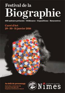Salon de la biographie de Nîmes, le dimanche 29 janvier 2017 à 10h30