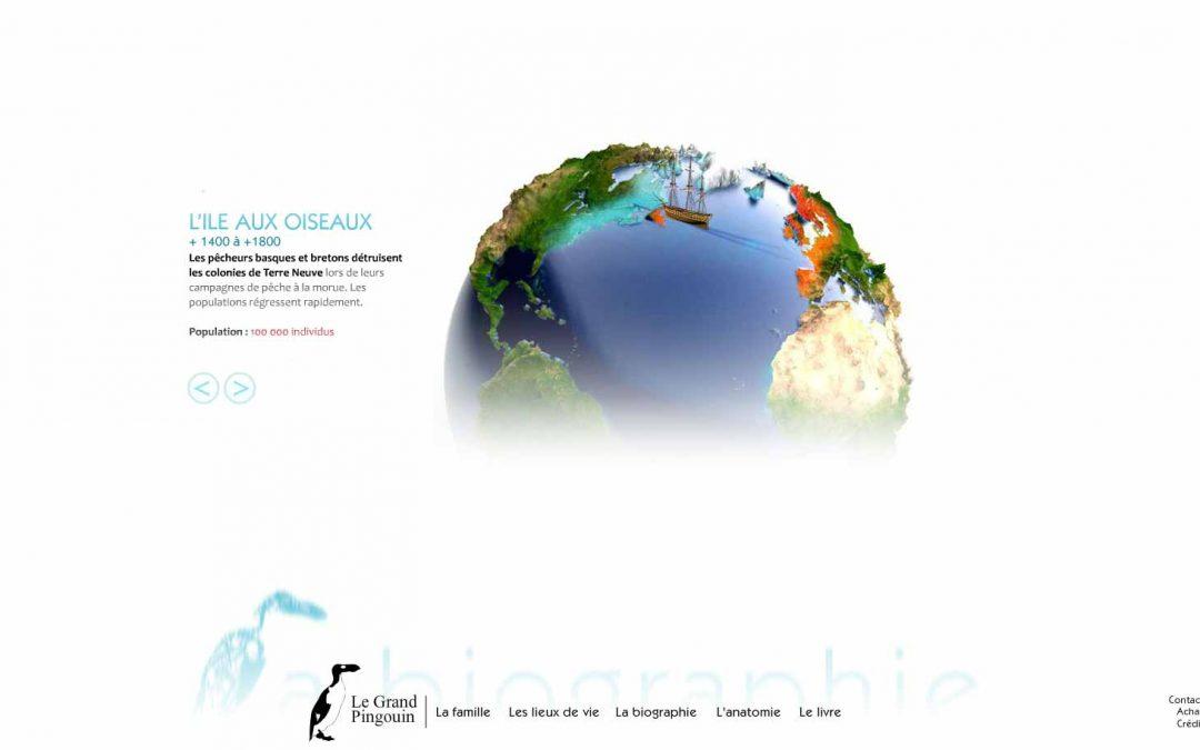 Le Grand Pingouin, projet d'exposition