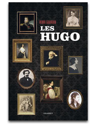 Couverture biographie les hugo