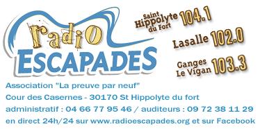 Henri Gourdin parle de Jean Hugo sur Radio Escapades