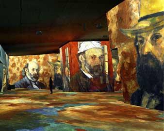 Cézanne aux carrières de lumière