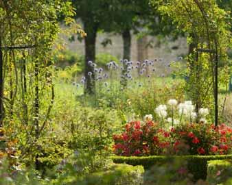 Jardin de George Sand à Nohant