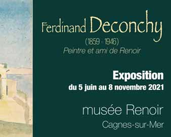 Deconchy au musée Renoir